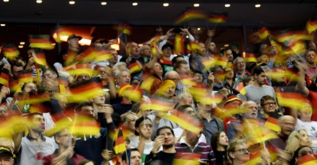 Handball world championship 2019 : the Power of The crowd is wearing the German Team