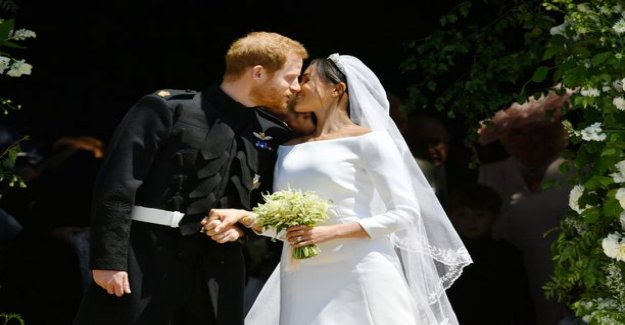 Harry and Meghan spend their first valentine's day as a married couple from different countries