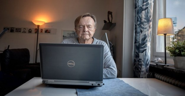 He was invited to log on to the deceased man's Facebook