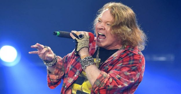 Hear the first new song from Axl Rose in ten years