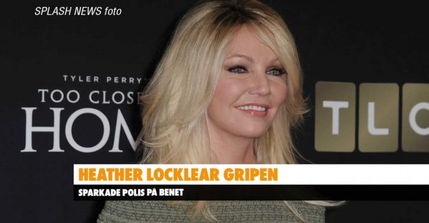 Heather Locklear break up with the boyfriend
