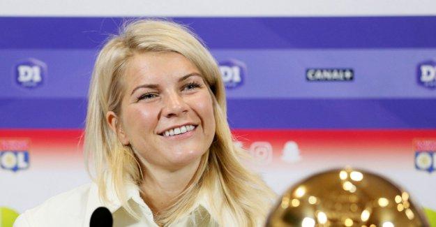 Hegerberg invited superstjerna in the wedding