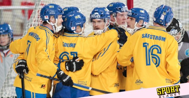 Here is the Sweden squad for the bandy world CHAMPIONSHIPS