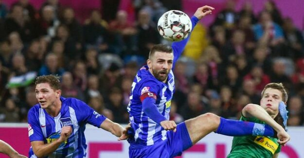 Hertha BSC : at the Back is not very tight: Hertha disclosed in Düsseldorf some weaknesses