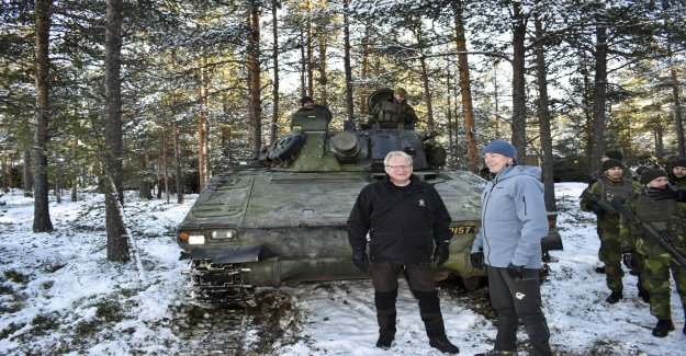 Hultqvist: Takes time to build military units