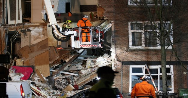 Huskollaps in the Hague after the explosion