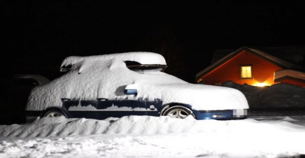 IL in Norway: Finnish car standing Blueberry hill in the foothills buried in the snow, four young people missing terrible circumstances – foot rag the weather and pitch dark prevent search