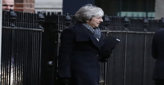 Important vote on the british brexitöde