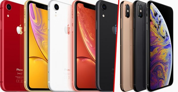 Iphone Xr vs. Xs – similarities and differences