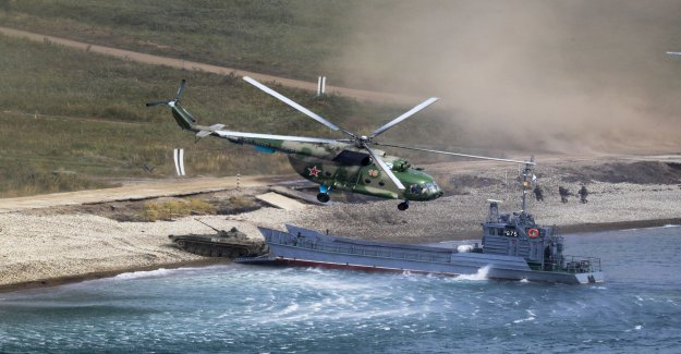 Iran and Russia are planning flottövning