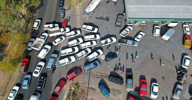 It is eerily quiet in Mexico city