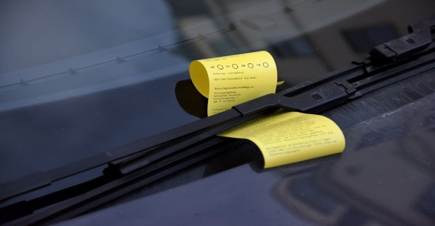 It received the highest number of cars parking tickets