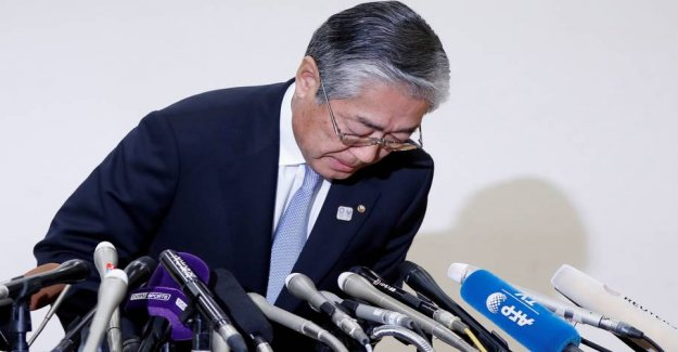 Japanese OLYMPIC chief rejects corruption before the award of the OLYMPICS
