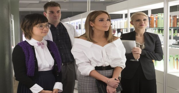 Jennifer Lopez in uneven comedy