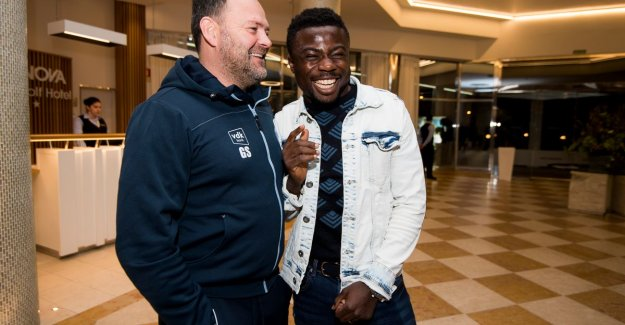 Jess Thorup shrink Ghent theatre group in Buffalo get remarkable visit of Moses Simon