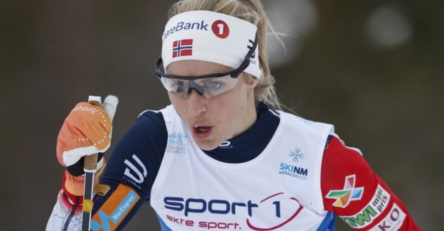 Johaug crushed the competition in NM: - This is a skremmeskudd