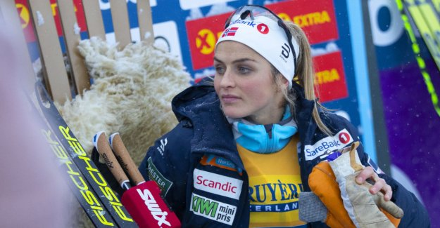 Johaug-warning features on the major issues