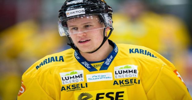 Jukurit will experience the worst loss - the number one defensive Aleksi Salonen leaves