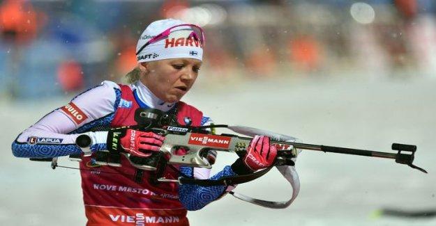 Kaisa Mäkäräinen remained far from the tip - poor shooting you murensivat Finnish
