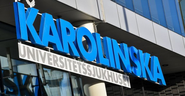 Karolinska: Two patients died in connection with the lack of space