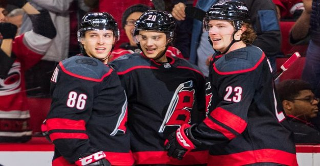 Keep Sebastian Aho domination? Trend refers to the point the factory of the continuation of the next night