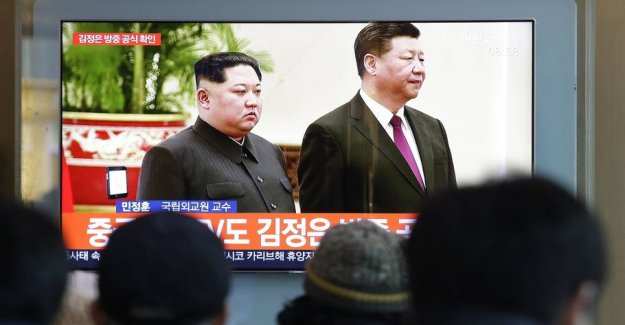 Kim Jong-un to the summit in China