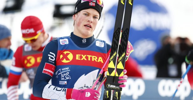 Klæbo managed so far to keep the russians away - won Tour de Ski