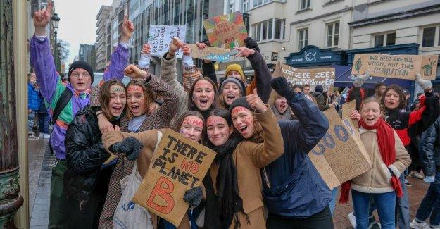 Klimaatspijbelaars will not folds: We are stubborn. We go every week to keep coming back