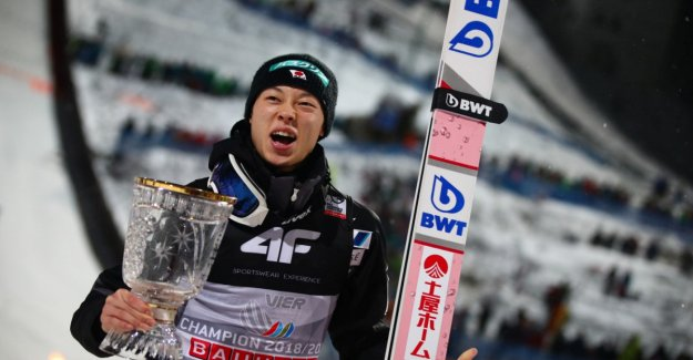 Kobayashi wins in Bischofshofen and the tour