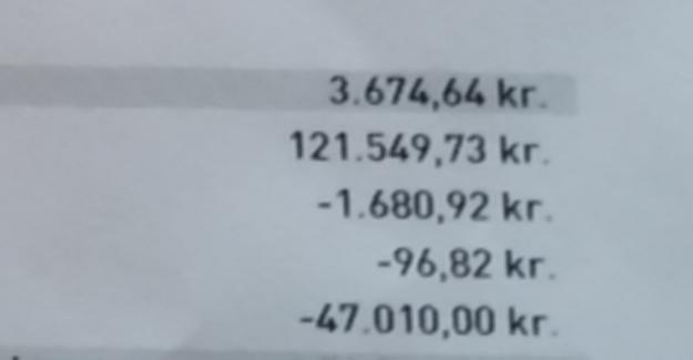 Kontanthjælps-Helge complaints over savings: 121.549 kr was to 10,000
