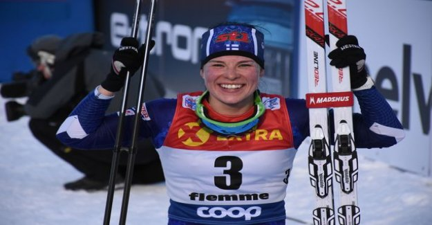 Krista Pärmäkoskelta the season's best skiing – received a substantial amount of money and go ski directly to the sauna: I would have thought