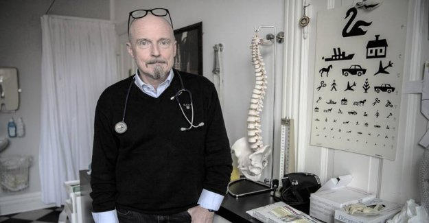 Lægeformand: Patients run the risk to get caught