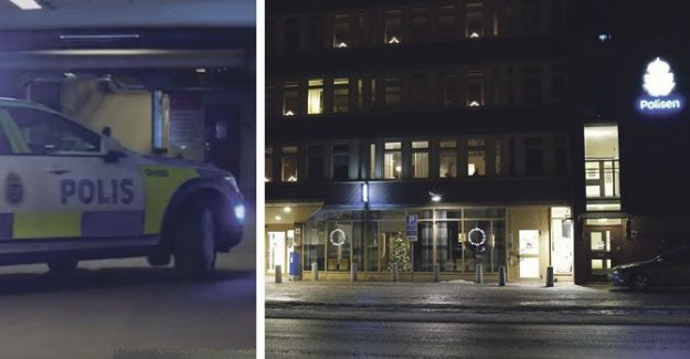 Large police operation in Sundsvall – woman arrested for threats against police officers