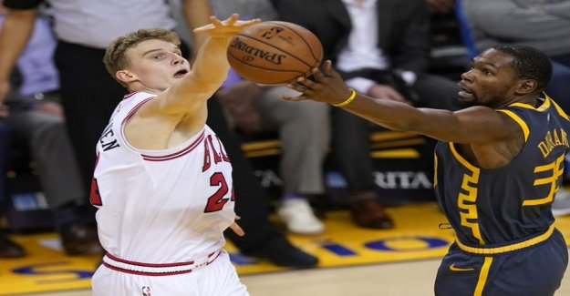 Lauri Markkanen Bulls sank deeper and deeper into - the opponent player had time to even tweet during the game