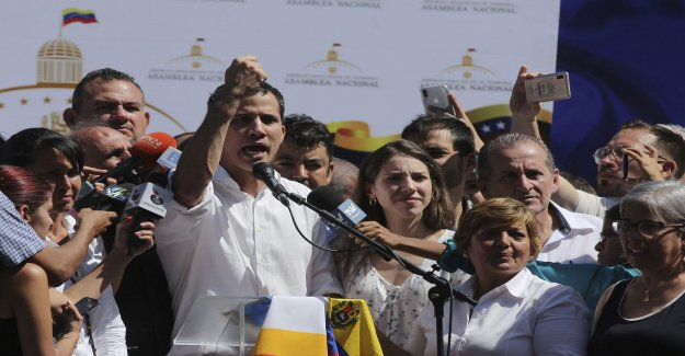 Leader of the opposition: Who governs Venezuela?