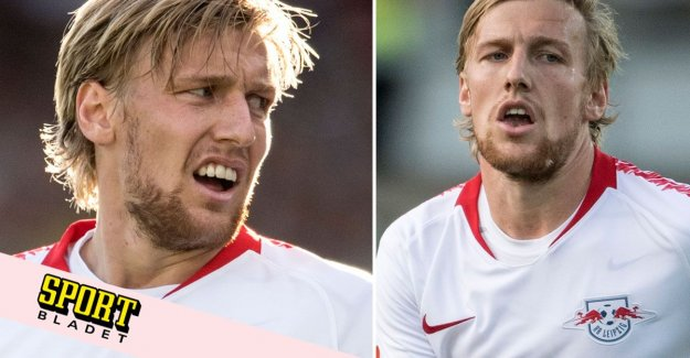 Leipzig are looking for a replacement for Emil Forsberg