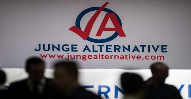 Links to the extreme Right : In the AfD, the criticism of party of young employees and the right to grow wings