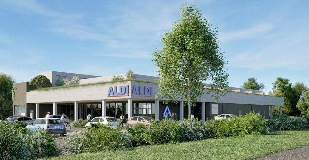 Living above the Aldi: all 54 branches have apartments on the roof