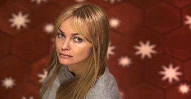 Livskrisande Izabella Scorupco got the help of the new tv role in the Hidden