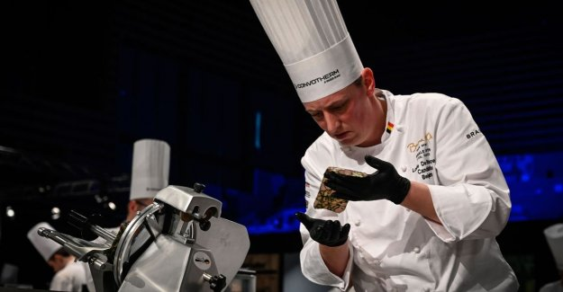 Lode De Roover (Fleur de Lin) is the eighth at the world CHAMPIONSHIPS cooking: Feel fantastic