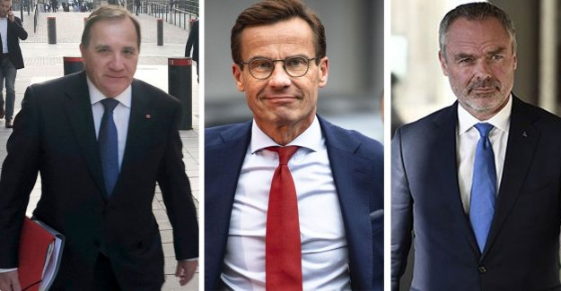 Löfven and Kristersson in secret meetings with the Liberals