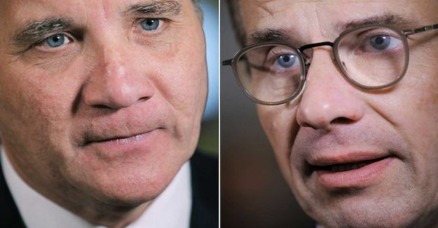 Löfven and Kristersson leave the new report