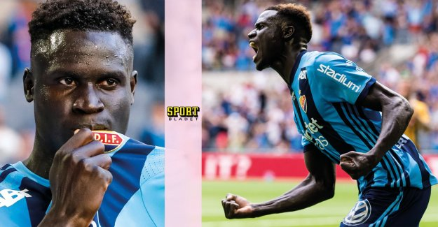 Loss and Badji left in the Djurgården: no discussion