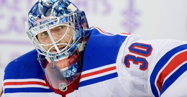 Lundqvist replaced in the Rangers storförlust