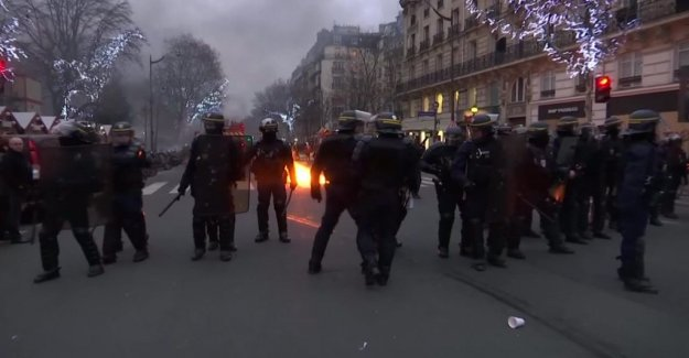 Macron condemned the attack on the ministry of the interior