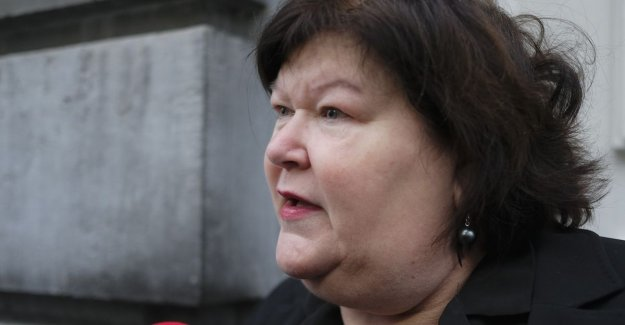 Maggie De Block: The port through shadowy intermediaries is immediately at my appointment closed