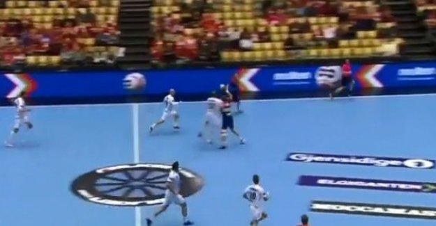 Magical Myrhol-passing when Norway rundspilte Austria