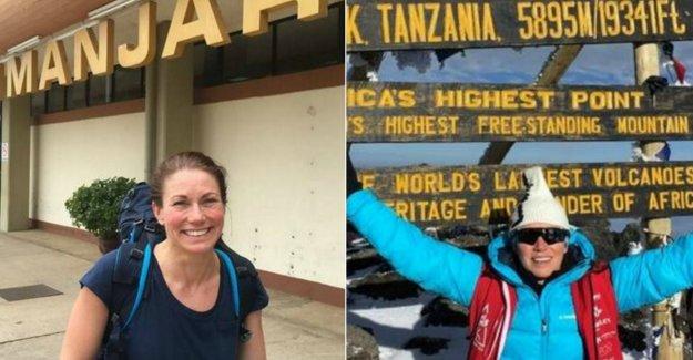Malin, 43, climbed Kilimanjaro - despite ms