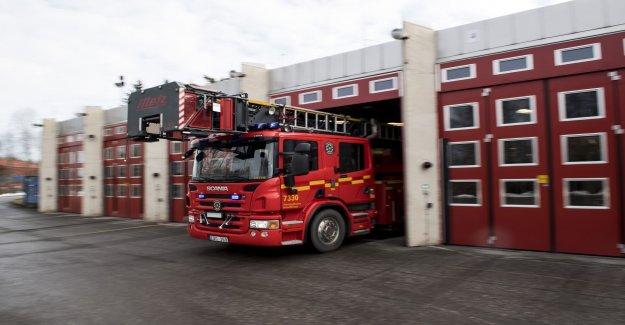 Man injured in husbrand in Vänersborg