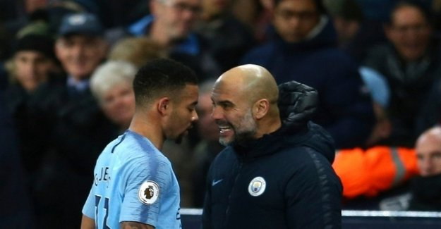 Manchester City wins thanks to Jesus
